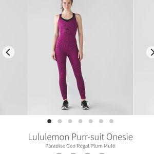 Lululemon Purple Jumpsuit